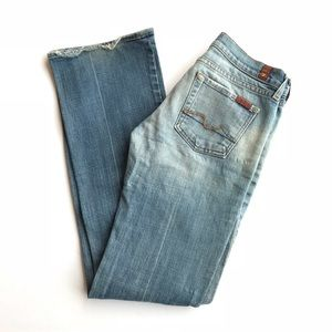 Seven Bootcut Light Wash Jeans